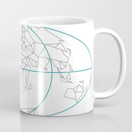 Polygon Globe Coffee Mug