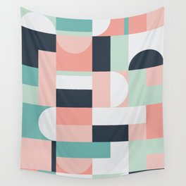 Abstract Geometric 08 Wall Tapestry