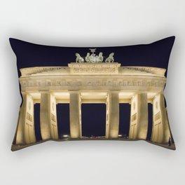 Brandenburg Gate At Night Rectangular Pillow