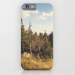 Brocken Mountain Trail iPhone Case