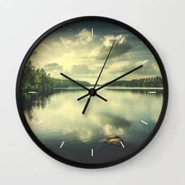 When in doubt Wall Clock
