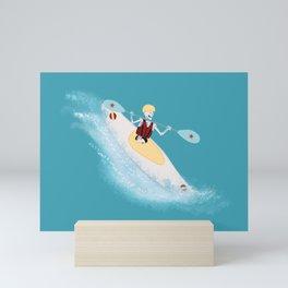 Whitewater Willy Mini Art Print