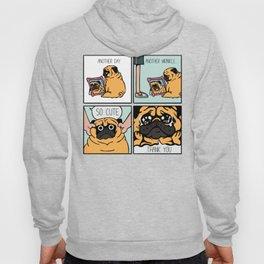 Another Wrinkle Pug Hoody