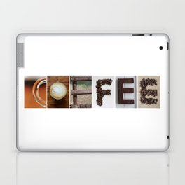 COFFEE Strong photo letter art typography Laptop & iPad Skin