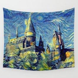 Hogwarts Starry Night Wall Tapestry