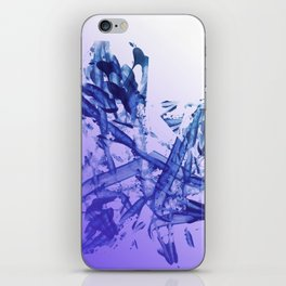 Indigo Impact iPhone Skin