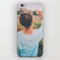 tumblr iPhone & iPod Skins featuring Tumblr by Amanda Lily