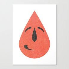 Shy smile Canvas Print