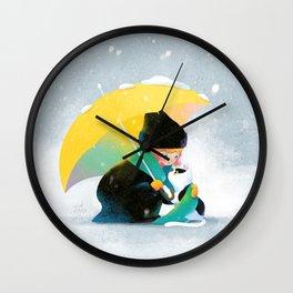 Sharing Love Wall Clock