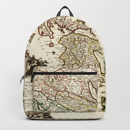 1752 Map of Greece Backpack