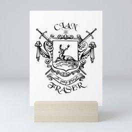 COAT OF ARTMS CLAN FRASER Mini Art Print