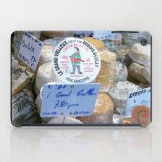Cheese Market Paris iPad Case