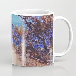 Blue and Gold Coffee Mug