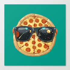 Cool Pizza Canvas Print
