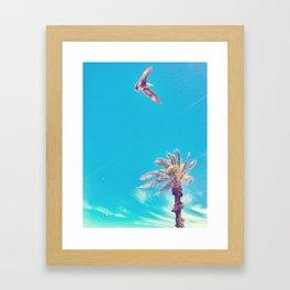 Dreaming of the Beach Framed Art Print