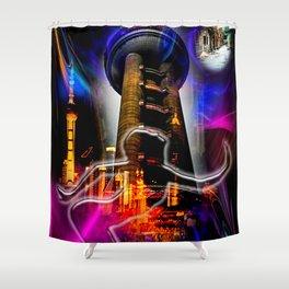 Asia World 20 Shower Curtain