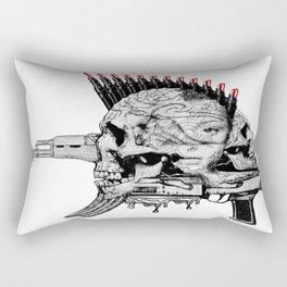 she's not afraid the terror.. the terror is she... Rectangular Pillow