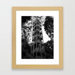 upside Framed Art Print