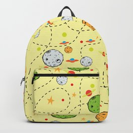 Asteroids and ships Backpack