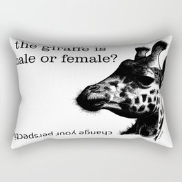 giraffa Rectangular Pillow