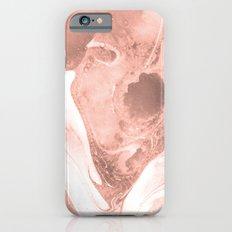 Pink & Grey Marble Slim Case iPhone 6s