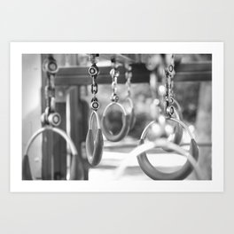 Empty playground Art Print