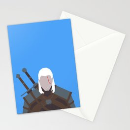 Geralt of Rivia - The Witcher Stationery Cards