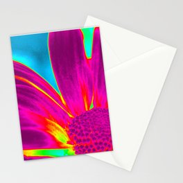 Flower | Flowers | Neon Daisy Stationery Cards