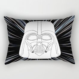 Vader in Hyperspace Rectangular Pillow