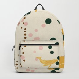 The golden whales Backpack