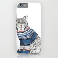 Christmas Lynx // Festive Furries No.1 iPhone 6s Slim Case