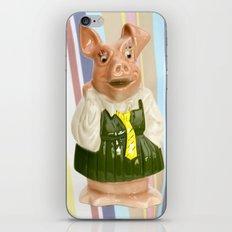 Nat West Piggy Bank Ceramics iPhone & iPod Skin