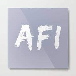 Afi (Grandfather)  Metal Print