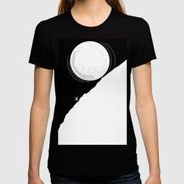 Runing moon T-shirt