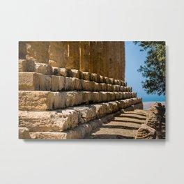 temple in Greece Metal Print