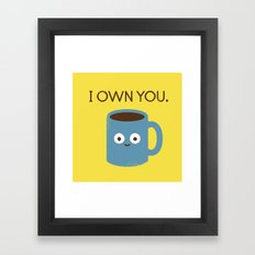 Coffee Talk Framed Art Print