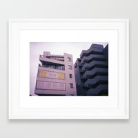 tokyo Framed Art Prints featuring Tokyo by Didi Jean