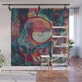 Mermaid Transformation Wall Mural