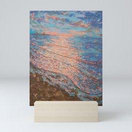 Sundown Good Harbor Mini Art Print
