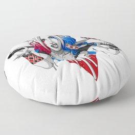 Harley Quinn Armed Floor Pillow