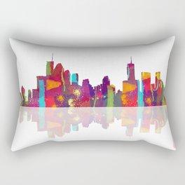 Brisbane Skyline 1 Rectangular Pillow