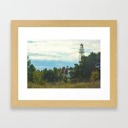 Discover (Rawley Point Lighthouse, Wisconsin) Framed Art Print