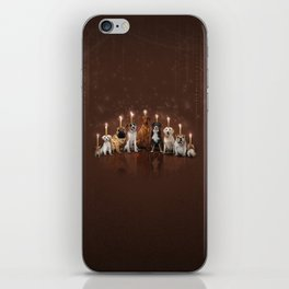 Hot Dog, It's Hanukkah! iPhone Skin