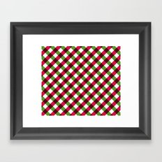 Holiday Pattern Framed Art Print