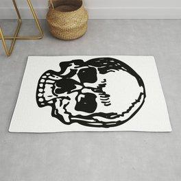 Black and White Pirate Skull, Vibrant Skull, Super Smooth Super Sharp 9000px x 11250px PNG Rug
