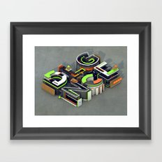 DLGNCE Framed Art Print
