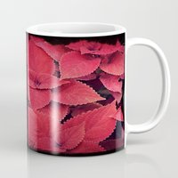 moulin rouge Mugs featuring Rouge by KunstFabrik_StaticMovement Manu Jobst