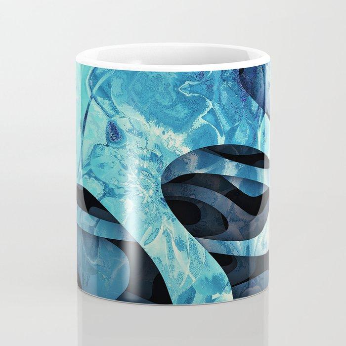 Frozen flowers Coffee Mug