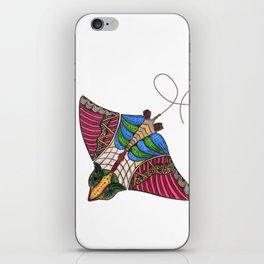 Colorful Stingray iPhone Skin