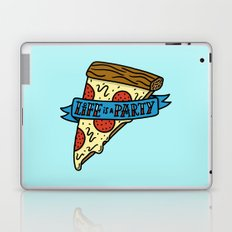 Life is a Pizza Party Laptop & iPad Skin